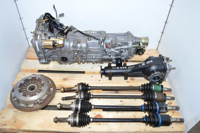 JDM TY755VB5BA 4.444 LSD 5 Speed Manual Swap for USDM TY754VN2BA 5MT for WRX 2002-2005