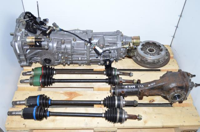 USDM TY754VV4AA 5MT WRX 2002-2005 Replacement Transmission, JDM TY754VB5AA 4.444 LSD Manual Package