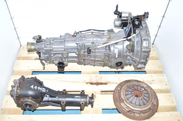 JDM Push Type 5 Speed Transmission Swap For Sale with 4.444 Differential