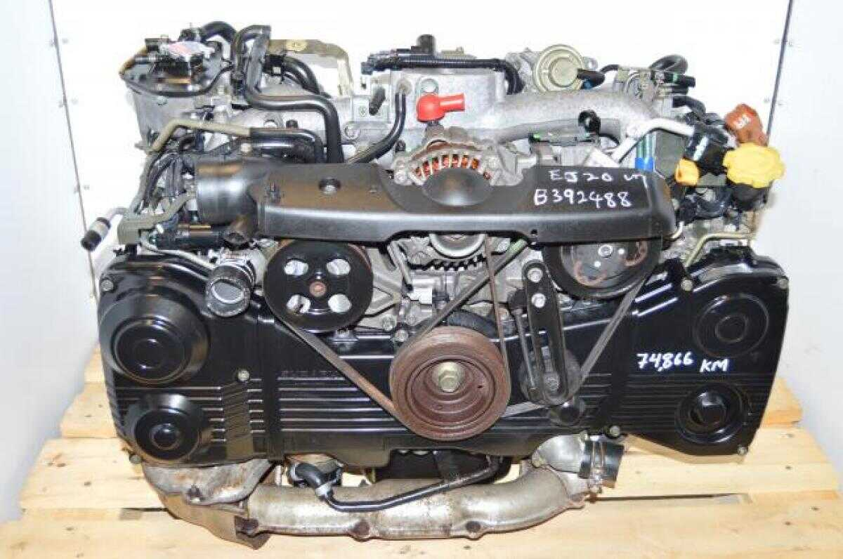 Subaru EJ205 WRX GDA GDB 2002-2005 TD04 Turbocharged AVCS Engine Package For Sale