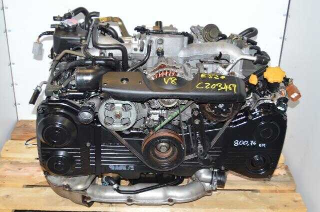 Subaru WRX 2002-2005 GD GG EJ205 2.0L TD04 Turbocharged Low Mileage Engine Swap For Sale with AVCS Functionality
