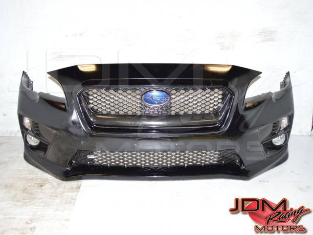 Subaru STi 2015-2017 Sedan Front Bumper Cover Shell with Foglights For Sale