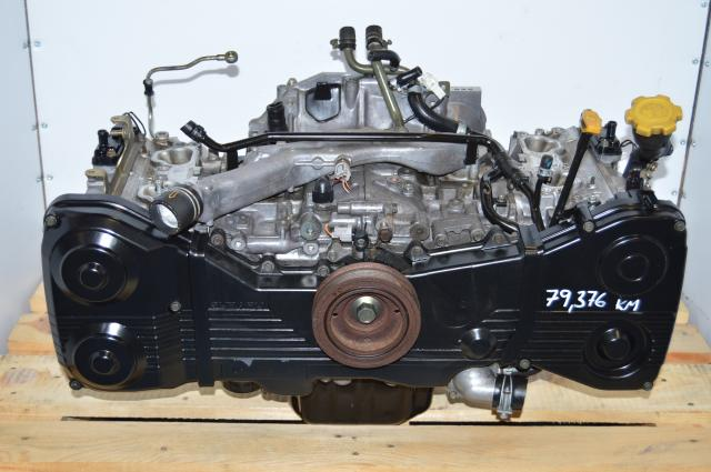 JDM Long Block EJ205 2.0L WRX 2002-2005 DOHC Engine Swap For Sale