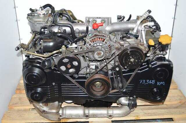 Subaru WRX 2002-2005 Direct Replacement EJ205 2.0L DOHC TF035 Turbocharged Engine For Sale