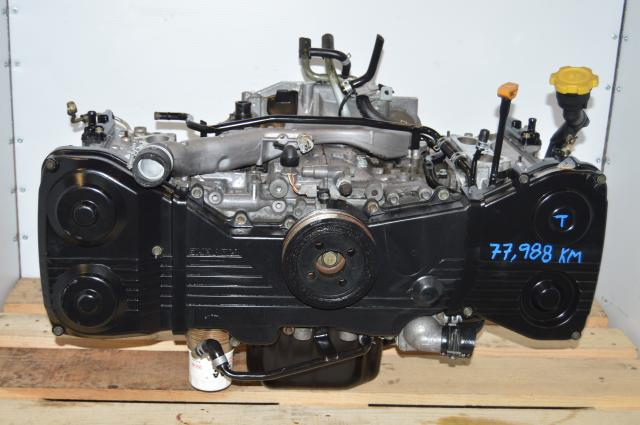 JDM Suaru WRX 2002-2005 2.0L DOHC EJ205 Long Block Motor Swap For Sale