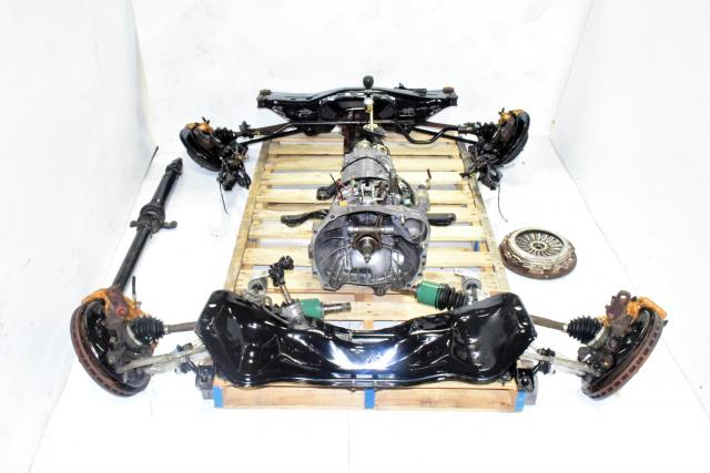 TY856WB6KA 6 Speed Manual DCCD JDM Transmission Kit with 5x100 Complete Swap For Sale