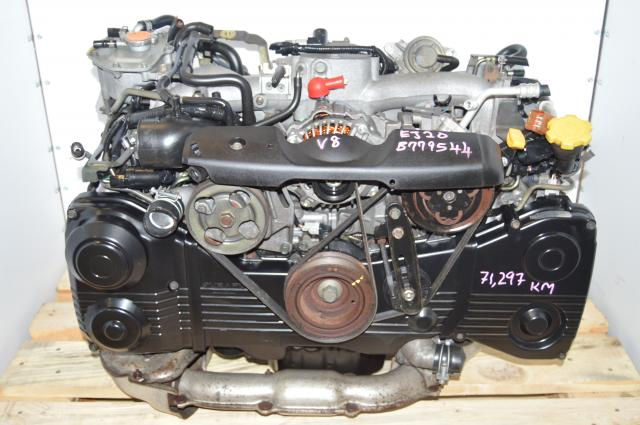 Subaru EJ205 WRX 02-05 TD04 Turbocharged AVCS 2.0L DOHC Motor Package For Sale