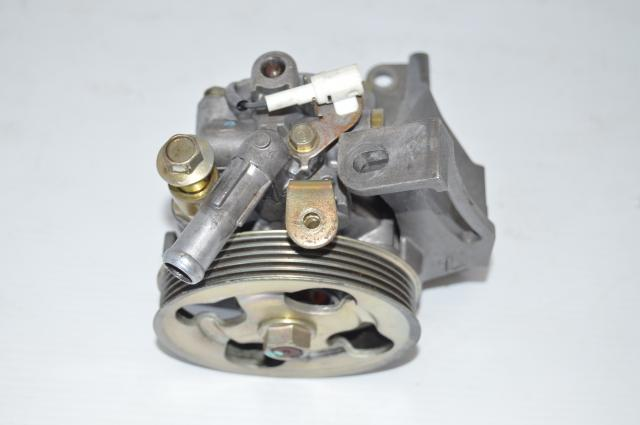 JDM Subaru EJ207 STi Version 8 2004-2007 Power Steering Pump Assembly - Sample Picture