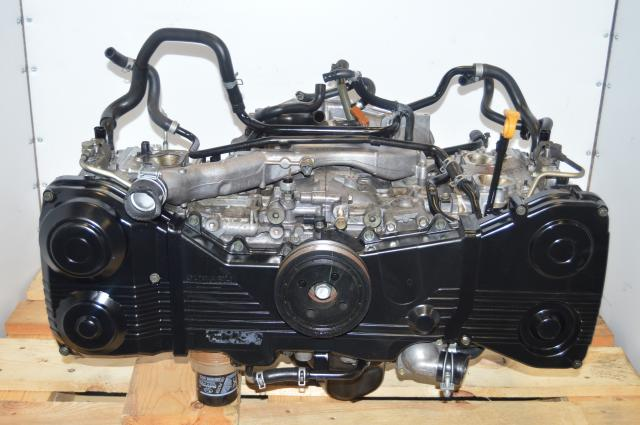 Subaru Version 8 JDM EJ207 2002-2007 STI Longblock 2.0L Twin Scroll Motor For Sale