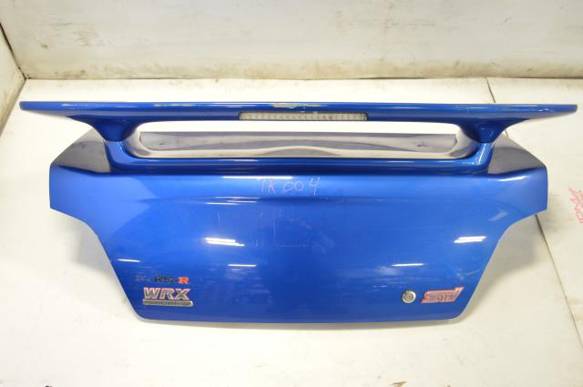 JDM Impreza RS, WRX, STi 2002-2007 OEM Rear Trunk with Spoiler & Riser