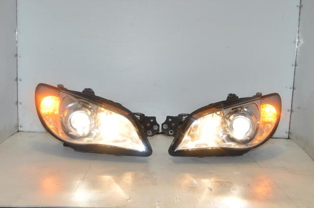 Used Subaru Version 9 HID Hawkeye Headlight Assembly 2006-2007 For Sale