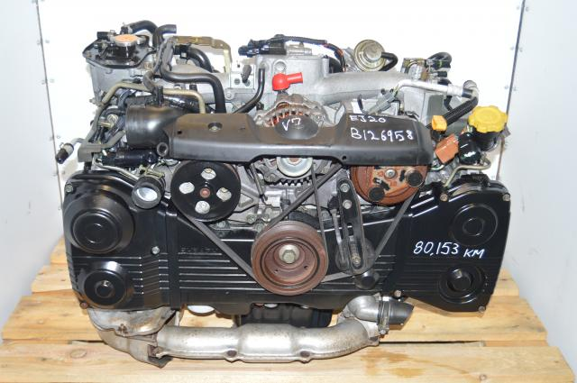 Subaru WRX 2002-2005 EJ205 TD04 Turbocharged AVCS 2.0L DOHC Engine Swap
