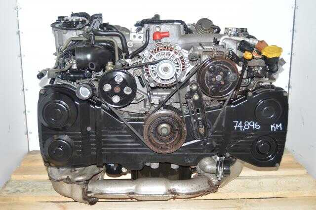 Subaru EJ205 WRX 2002-2005 AVCS TD04 Turbocharged 2.0L Engine Swap For Sale