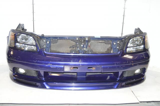 JDM Subaru Legacy BH5 BE5 Front End Assembly with Headlights, Foglights & Radiator Assembly