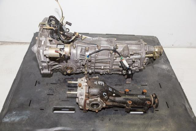 Used Subaru WRX 2002-2005 5MT transmission with  4.444 rear R160 Differential For Sale