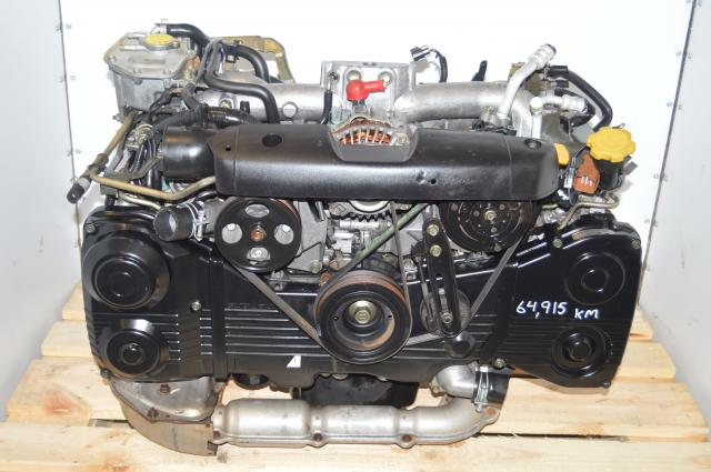 JDM Subaru Impreza WRX TF035 Turbo EJ205 2002-2005 Engine 2.0L Swap For Sale