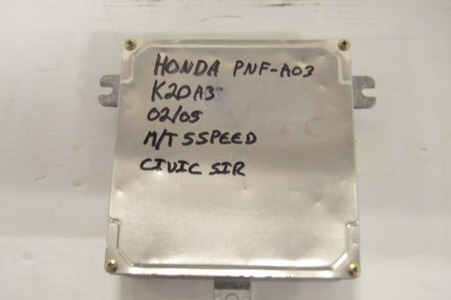 Honda Civic SiR K20A3 ECU (PNF-A03) M/T
