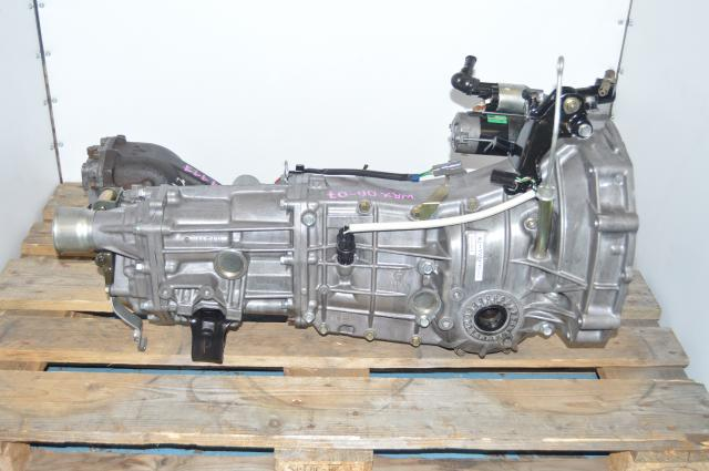 Used JDM Subaru WRX 2006-2007 GD Push Type Replacement 5 speed Transmission For Sale