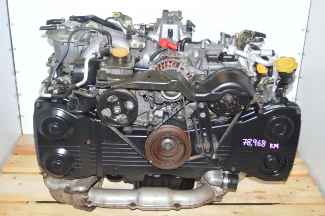 JDM Impreza WRX 2002-2005 EJ205 TD04 Turbocharged Engine Swap For Sale