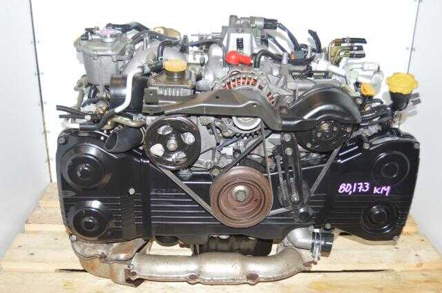 used JDM WRX EJ205 non-avcs TD04 Turbocharged Engine Swap For Sale Fits 2002-2005 WRX models