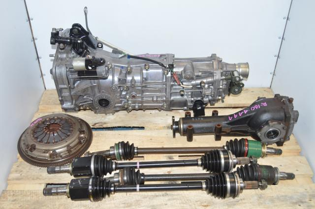 Used Subaru WRX 2006-2007 Forester Push Type Replacement 5 speed Transmission For Sale 4.444 Differential