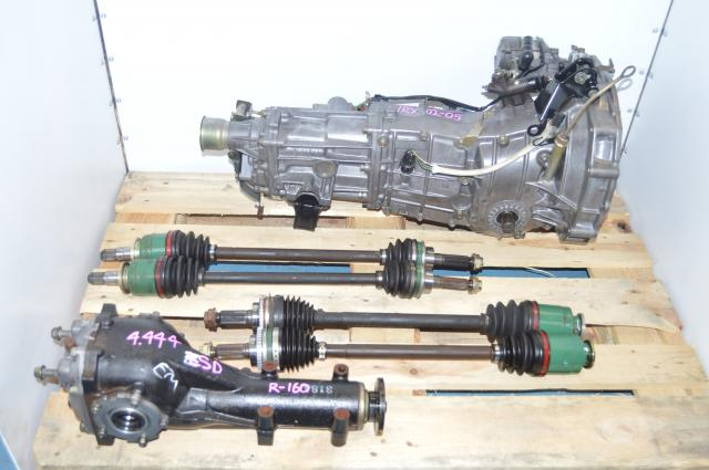 used JDM VERSION 5/6 WRX STI / Legacy TY754VBAAA 5 SPEED TRANSMISSION MY99-00 R160 LSD Rear Differential