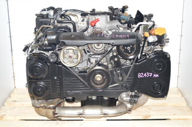 Subaru EJ205 WRX TD04 Turbo DOHC 2.0L AVCS Engine Package Swap