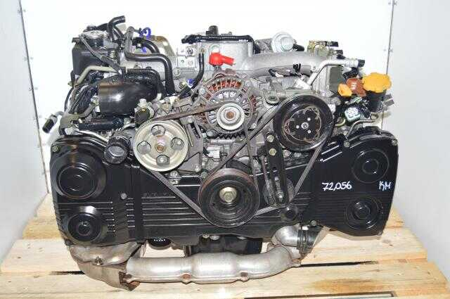 Subaru EJ205 Turbocharged 2002-2005 WRX 2.0L AVCS TD04 GDA GDB Quad Cam Engine For Sale