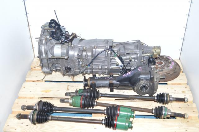JDM TY754VB1AA 5-Speed Manual Transmission with Rear LSD 4.11 Differential, Replacement Transmission for WRX 2002-2004
