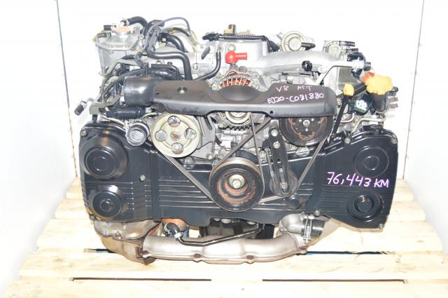 Used Subaru WRX 2002-2005 GD EJ205 TD04 Turbocharged 2.0L DOHC AVCS Engine Swap For Sale