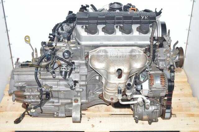 Honda Civic 2001-2005 D17A 1.7L VTEC Engine Swap For Sale with SLXA Transmission