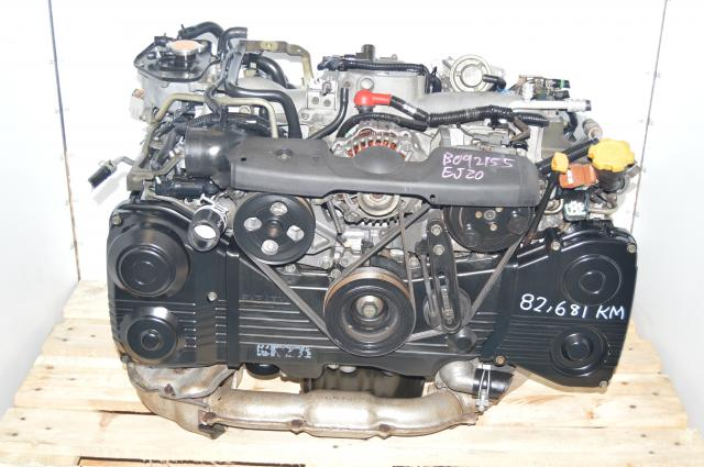 Used Subaru EJ205 WRX 2.0L AVCS Engine Package Swap For Sale with TD04 Turbo