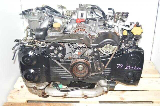 used Subaru EJ205 Motor, fits 2002-2005 WRX, Swap Engine TD04 Turbo For Sale