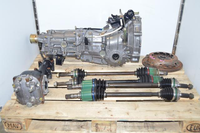 Used JDM Subaru 5-Speed Manual Transmission Swap For Sale For WRX 02-05 GDA GDB, 4.444 Rear LSD Differential