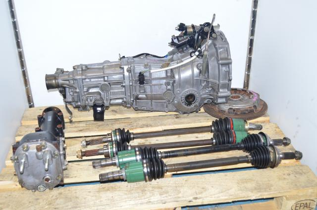USDM TY754VV4AA 5MT WRX 2002-2005 Replacement Transmission, JDM TY754VB5AA 4.444 Manual Package