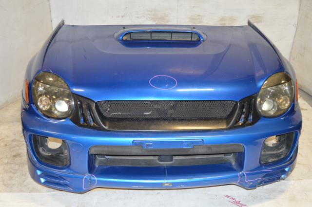 JDM Subaru WRX 2002-2003 Version 7 GD Front End Conversion Kit with Fenders, Headlights, Radiator Support & Front Bumper