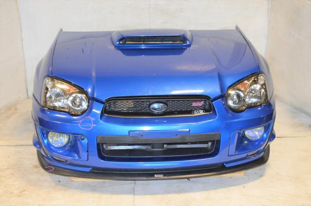 JDM Spec C Version 8 04-05 STi Nose Cut Conversion Package For Sale with JDM Foglights, Fenders, Hood & Hood Scoop