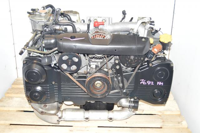 JDM Subaru EJ205 AVCS Turbocharged TF035 2.0L DOHC WRX 2002-2005 Engine