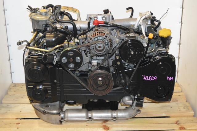 Subaru WRX GD GG 2002-2005 EJ205 2.0L DOHC Motor with TF035 Turbo For Sale