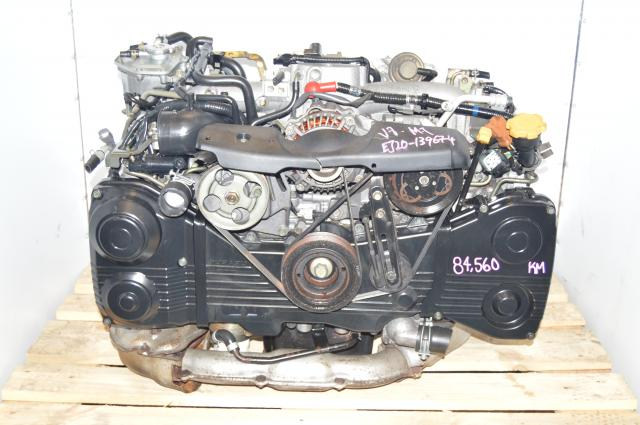 Subaru Impreza WRX 2.0L 02-05 EJ205 TD04 Turbocharged AVCS Engine For Sale