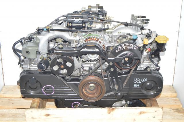 JDM EJ20 Forester 2000-2003 SOHC NA 2.0L Long Block Replacement for 2.5L Engine