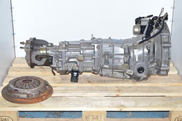 Used Subaru TY758VC1AA 5-Speed JDM Transmission Replacement, TY757VBBBB 5MT with 4.444 Rear Differential