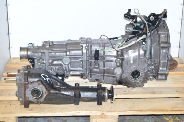 JDM TY754VB7AA Subaru 5 Speed WRX 2006-2007 Transmission Swap & Rear 4.444 Differential For Sale