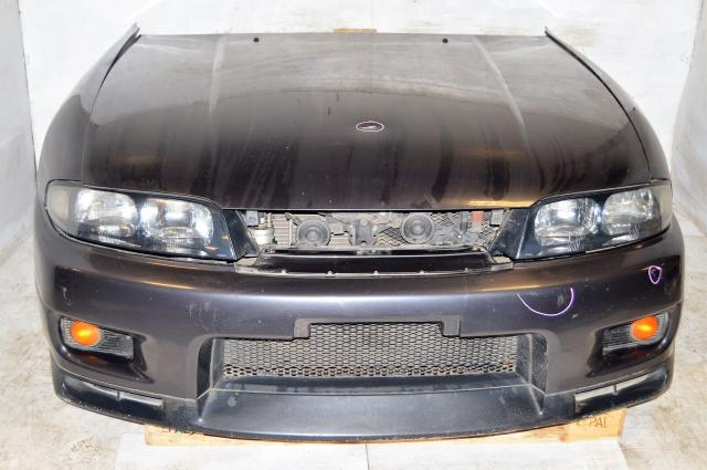 JDM Nissan R33 GTR Body Conversion Kit with Hood, Fenders, Sideskirts, Rear Bumper, Front Bumper, Radiator & Taillights For Sale