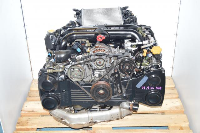 JDM Subaru Legacy 04-05 EJ20Y TD04 Twin Scroll Quad Cam Engine with AVCS & Intercooler  For Sale ( Also fits 08+ WRX )