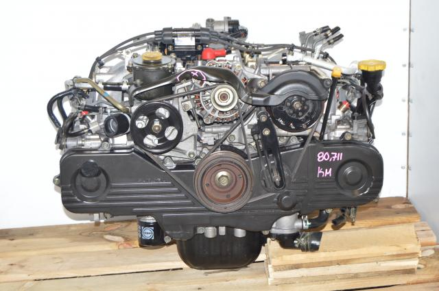 Used JDM Subaru EJ201 SOHC NA 2.0L Replacement Engine for EJ251 2.5L Motor