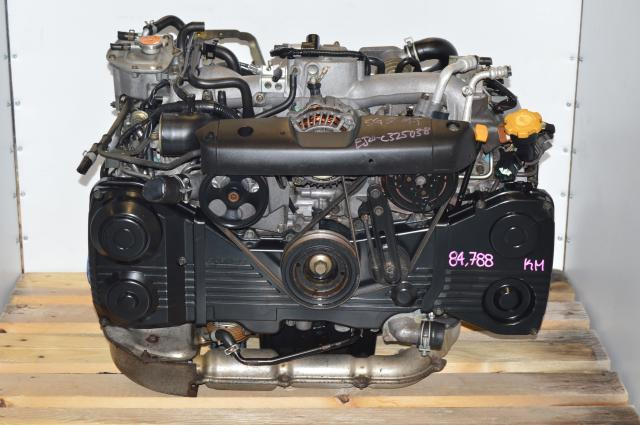 JDM Subaru WRX EJ205 2002-2005 TGV Delete AVCS Engine Swap For Sale with TF035 Turbo
