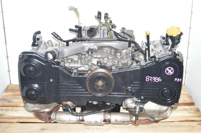 JDM Subaru EJ205 Engine Replacement DOHC 2.0L Long Block Swap