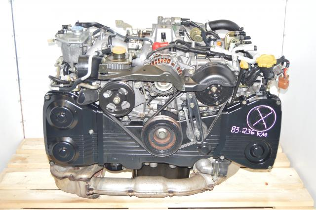 Used JDM Subaru Impreza GD WRX 02-05 2.0L DOHC Motor For Sale with TD04 Turbo