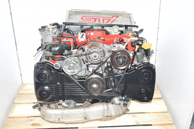 JDM Version 9 STi Spec-C 2002-2007 Twin Scroll IHI Turbocharges AVCS EJ207 TGV Delete Motor
